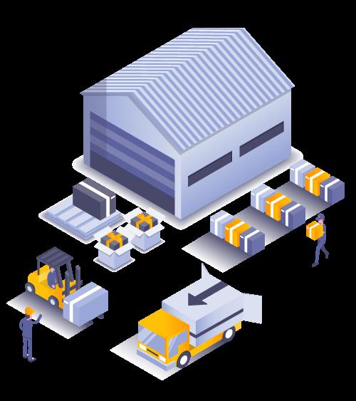 b2b retail logistics shipping